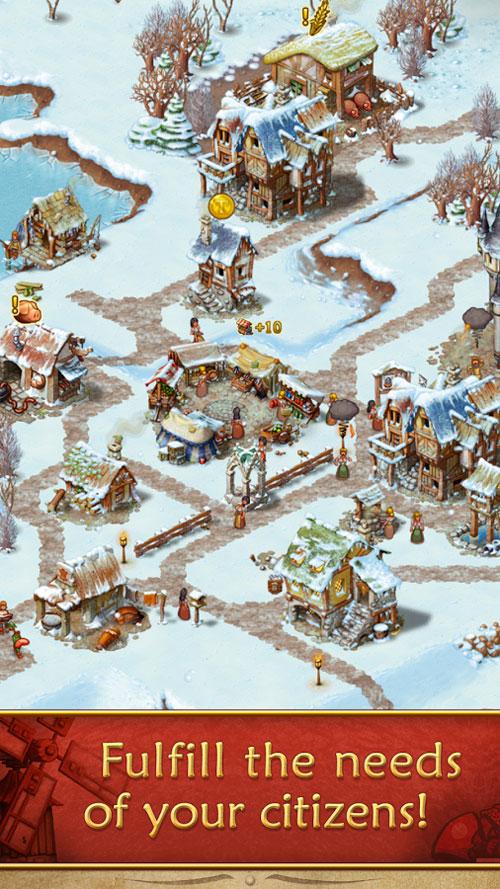 Townsmen Android - بازی جدید اندروید