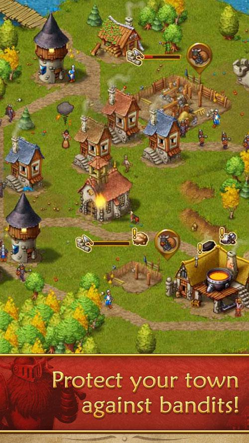 دانلود Townsmen Premium 1.14.3 – بازی استراتژی شهرنشینان اندروید + مود
