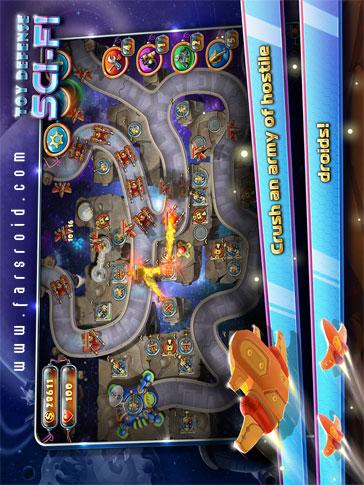 Toy Defense 4: Sci-Fi - بازی جدید اندروید