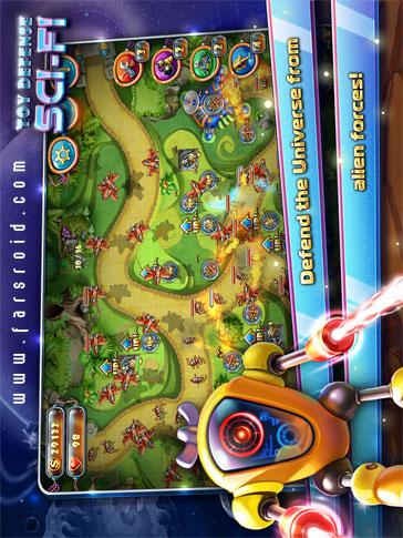 دانلود Toy Defense 4: Sci-Fi 1.10.0 – بازی دفاع اسباب بازی 4 اندروید!