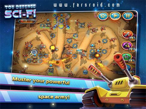 Toy Defense 4: Sci-Fi Android - بازی استراتژی جدید اندروید