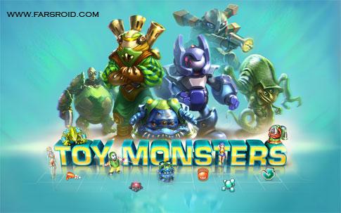 دانلود Toy Monsters - بازی استراتژی هیولاهای اسباب بازی اندروید + دیتا