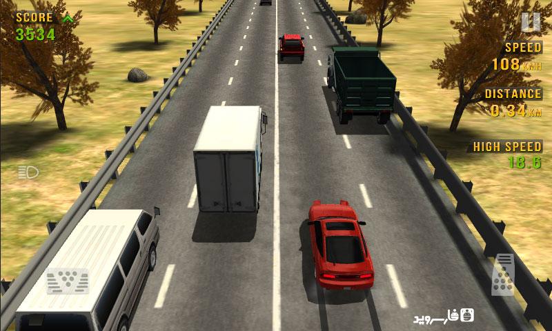 دانلود Traffic Racer 3.3 b338 – بازی ماشین سواری در ترافیک اندروید + مود