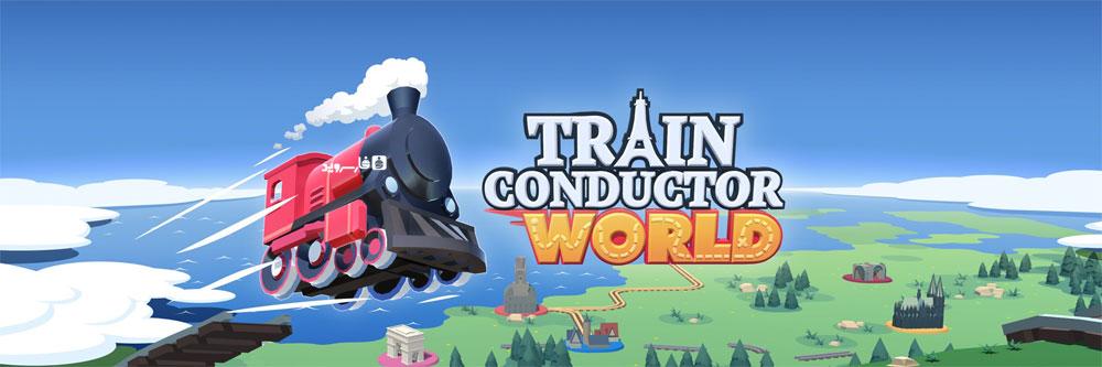 دانلود Train Conductor World - بازی کنترل قطار اندروید + مود