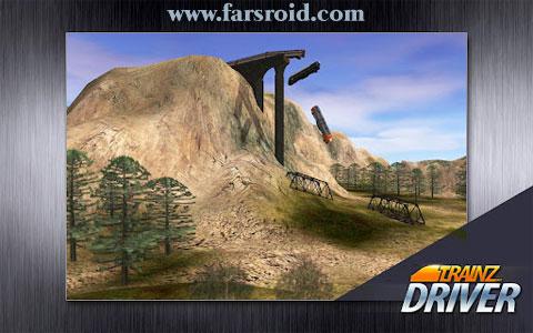 دانلود Trainz Driver - بازی شبیه ساز قطار اندروید + فایل دیتا