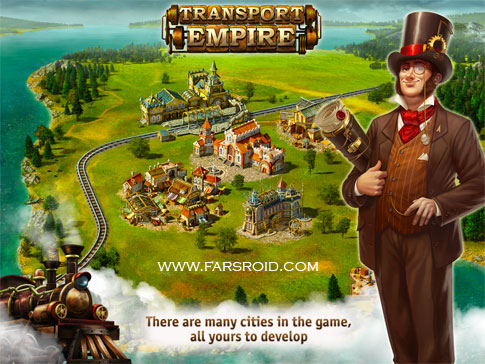 Transport Empire Android - بازی اندروید