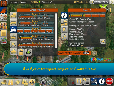 Transport Tycoon Android بازی اندروید