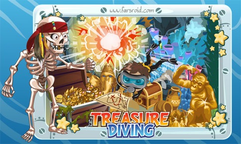 Treasure Diving Android بازی اندروید