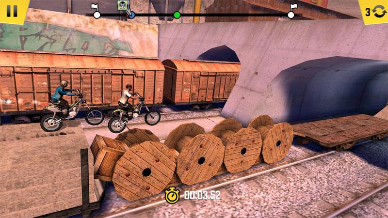 """دانلود Trial Xtreme 4 2.9.5 – بازی موتورسواری عالی """"تریل اکسترم 4"""" اندروید + مود + دیتا"""