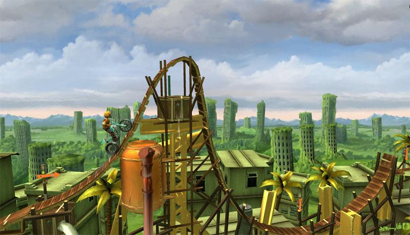 Trials Frontier - بازی اندروید