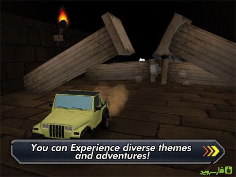 دانلود Trigger On The Road 1.0.4 – بازی ماشینی اندروید + مود