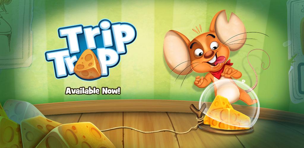 دانلود Trip Trap - بازی بسیار زیبای فرار از تله اندروید + دیتا + تریلر