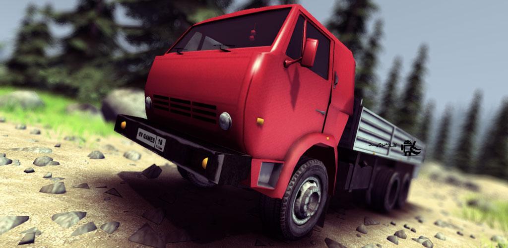 دانلود Truck Driver crazy road - بازی فوق العاده رانندگی کامیون اندروید + دیتا