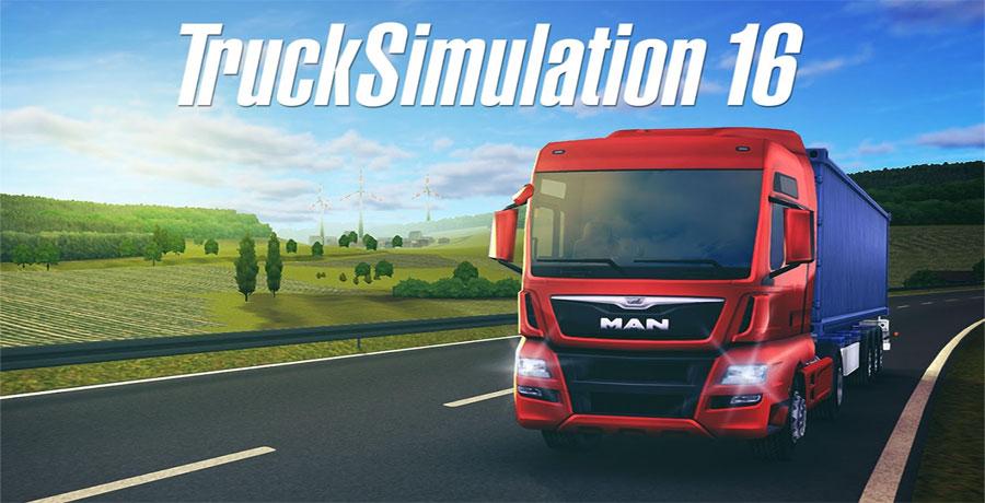 دانلود Truck Simulation 16 - بازی شبیه ساز تریلی اندروید + مود + دیتا