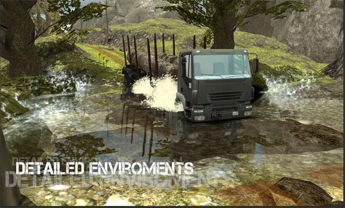 دانلود Truck Simulator : Offroad - بازی شبیه ساز کامیون اندروید !