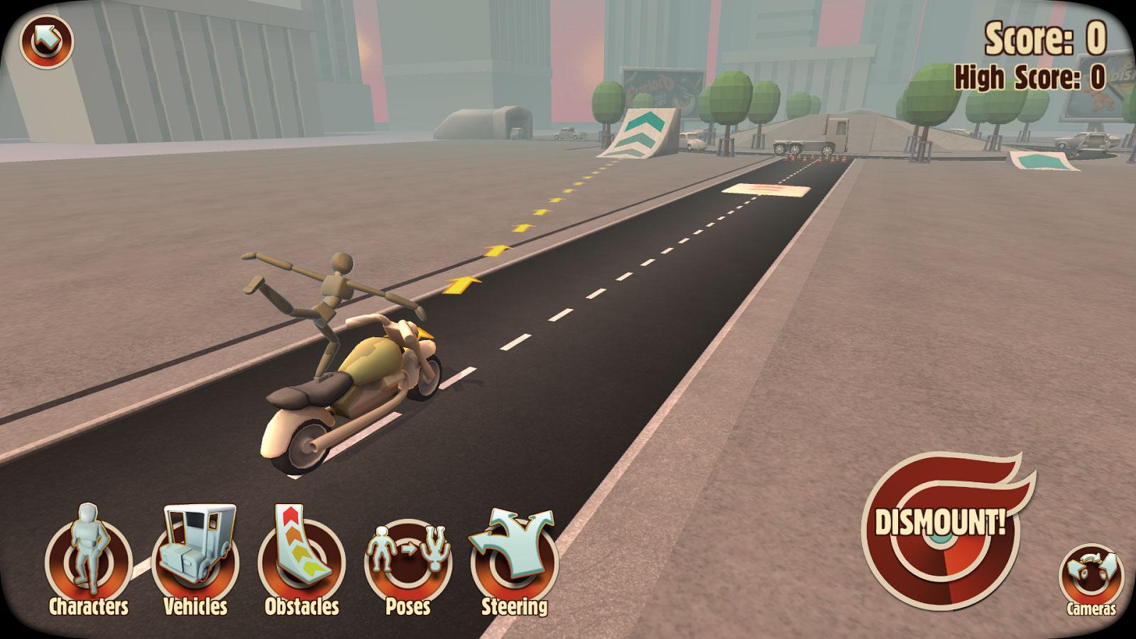 دانلود Turbo Dismount 1.43.0 – بازی شبیه ساز تصادف اندروید + مود