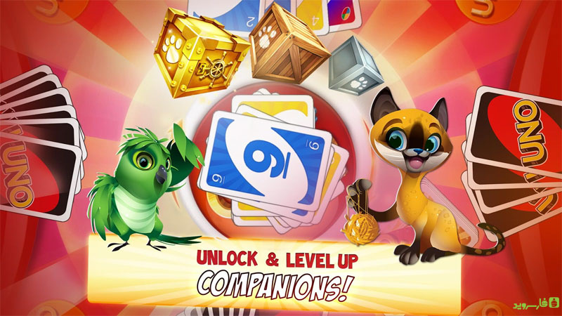 دانلود UNO™ & Friends 3.3.2c – بازی یونو و دوستان اندروید + مود + دیتا