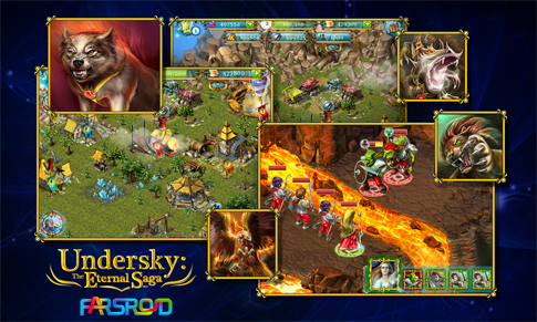 Download Undersky: The Eternal Saga Android Apk + obb