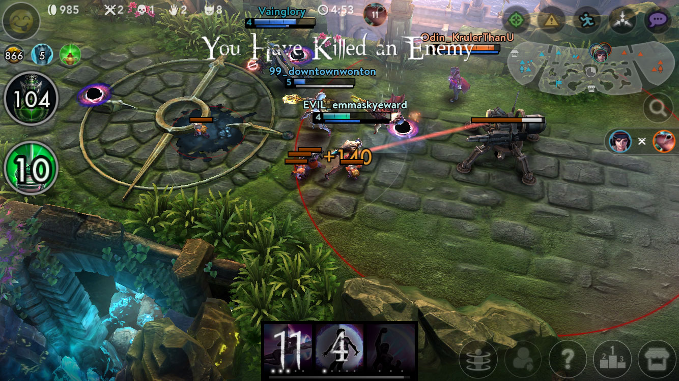 Download Vainglory Android Apk + Obb SD NEW - Google Play
