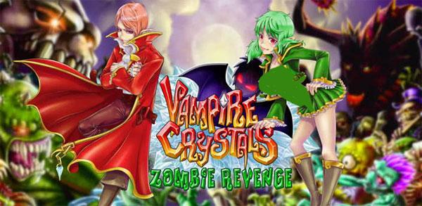 دانلود Vampire Crystals ZombieRevenge - بازی کریستال های خون آشام اندروید + دیتا + مود