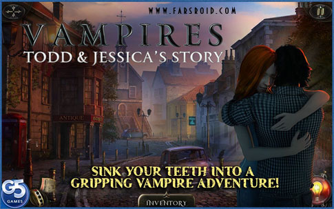 Vampires: Todd and Jessica's Story - بازی ماجراجویی HD اندروید + دیتا
