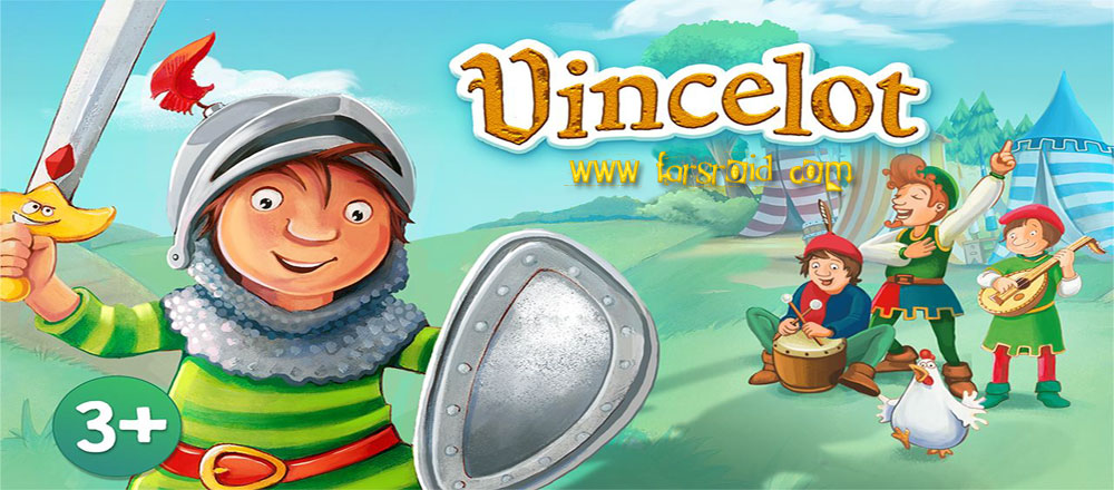 "Vincelot A Knights Adventure Cover دانلود Vincelot: A Knight's Adventure 1.0 – بازی ماجراجویی ""شوالیه کوچک"" آندروید + دیتا"