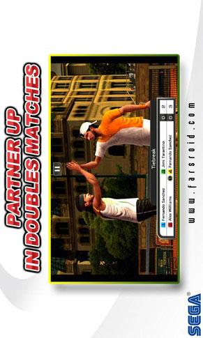 Virtua Tennis Challenge - بازی اندروید