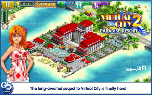 Download Virtual City: Paradise Resort Android Apk + Obb SD - Google Play