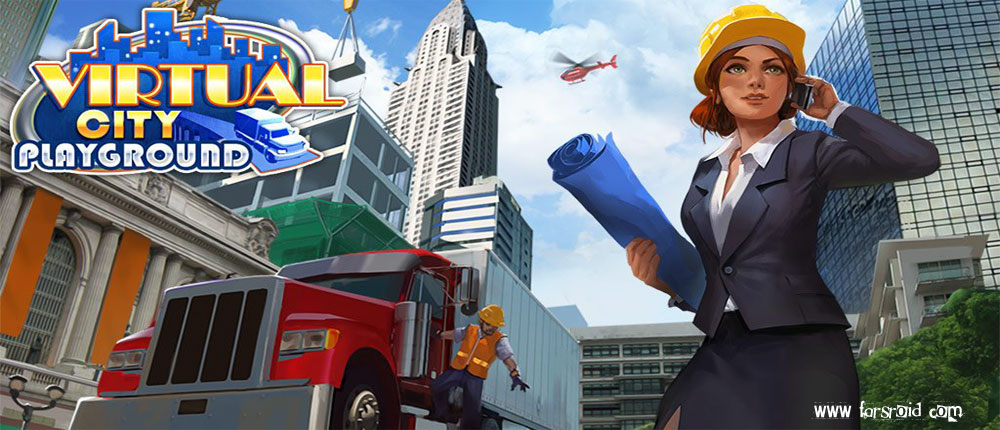 دانلود Virtual City Playground - بازی شهر مجازی اندروید + دیتا