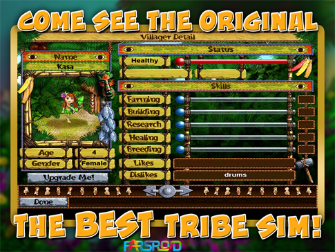 Download Virtual Villagers: Origins Android Game Apk - New