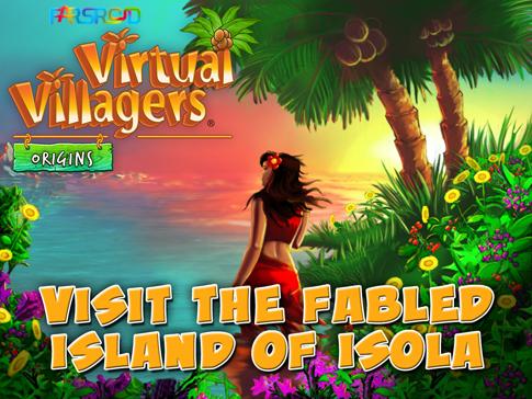 دانلود Virtual Villagers: Origins - بازی مراقبت از قبیله اندروید