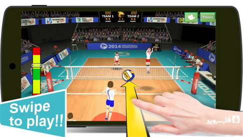 Volleyball Champions 3D 2014 Android