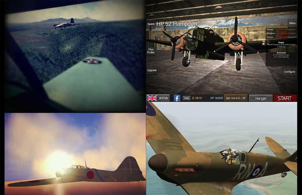دانلود WW2: Wings Of Duty - بازی هواپیمایی جنگ جهانی 2 اندروید + مود + دیتا
