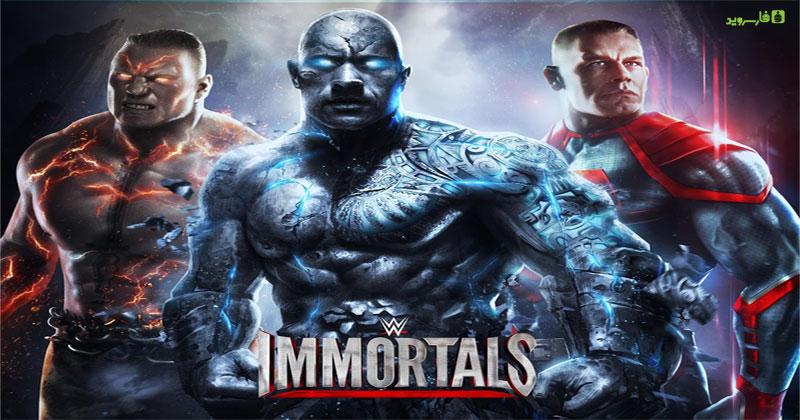 دانلود WWE Immortals - بازی کشتی کج خارق العاده اندروید + دیتا