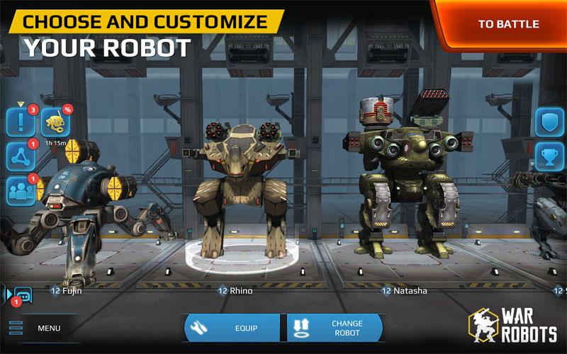Walking War Robots 1 دانلود War Robots 3.6.0 – بازی اکشن نبرد روبات ها آندروید + دیتا