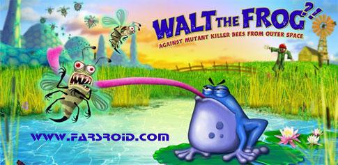 دانلود Walt The Frog?! - بازی قورباغه ای اندروید + فایل دیتا