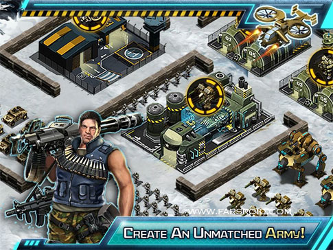 War Inc - Modern World Combat! Android - بازی اندروید