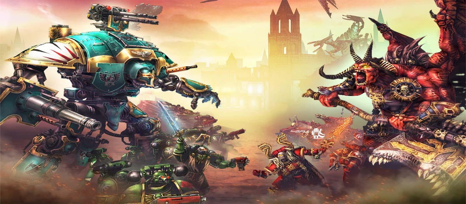 دانلود Warhammer 40,000: Freeblade 1.6.1 - بازی اکشن فوق العاده وار همر: فری بلید اندروید + مود + دیتا