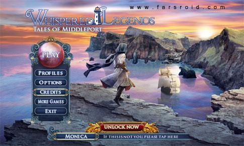 دانلود Whispered Legends Full - بازی ماجراجویی اندروید!