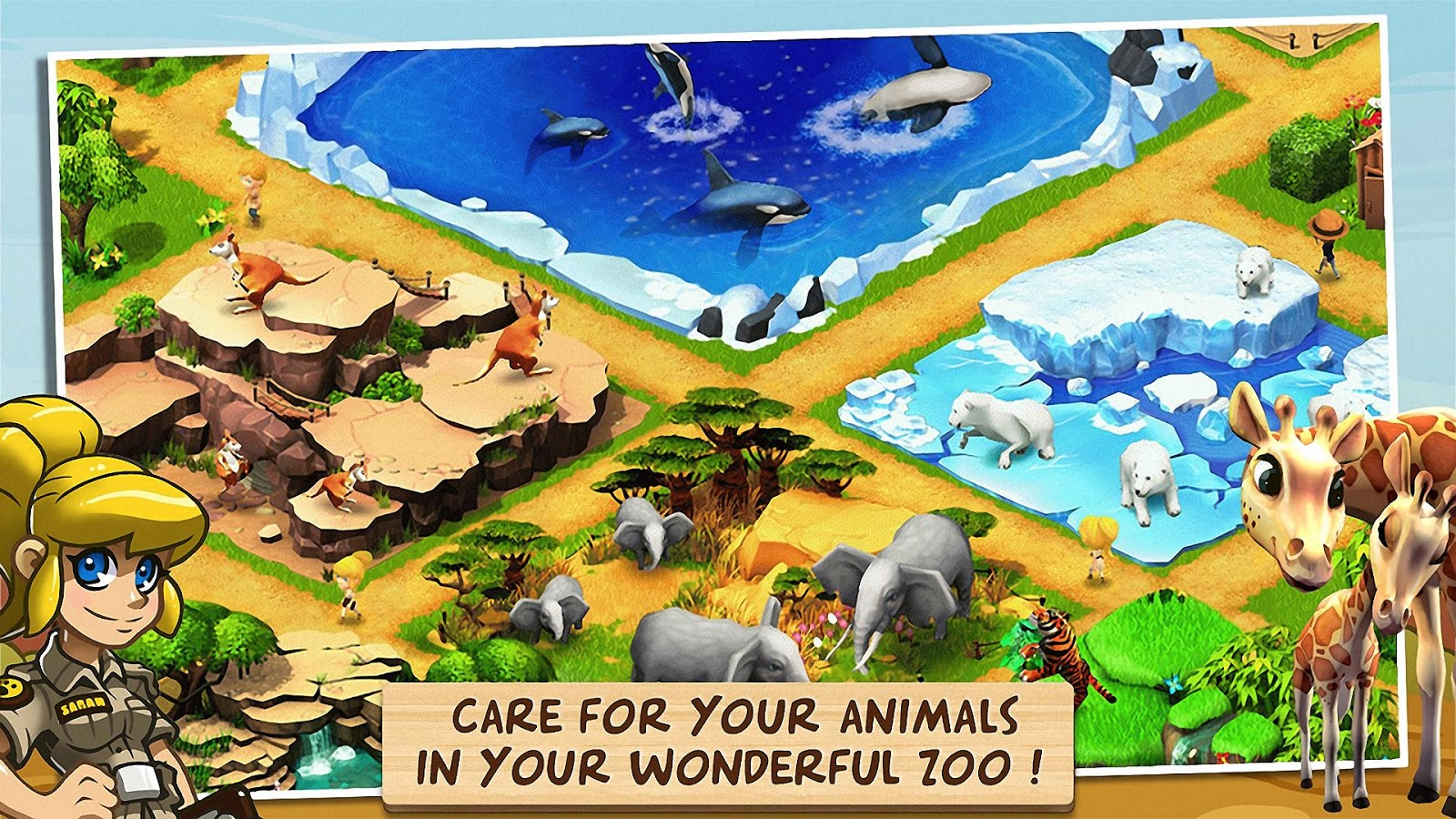 Wonder Zoo - Animal rescue ! Android بازی اندروید
