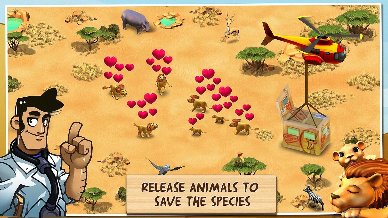 دانلود Wonder Zoo – Animal rescue 2.1.1a – بازی نجات حیوانات اندروید + مود