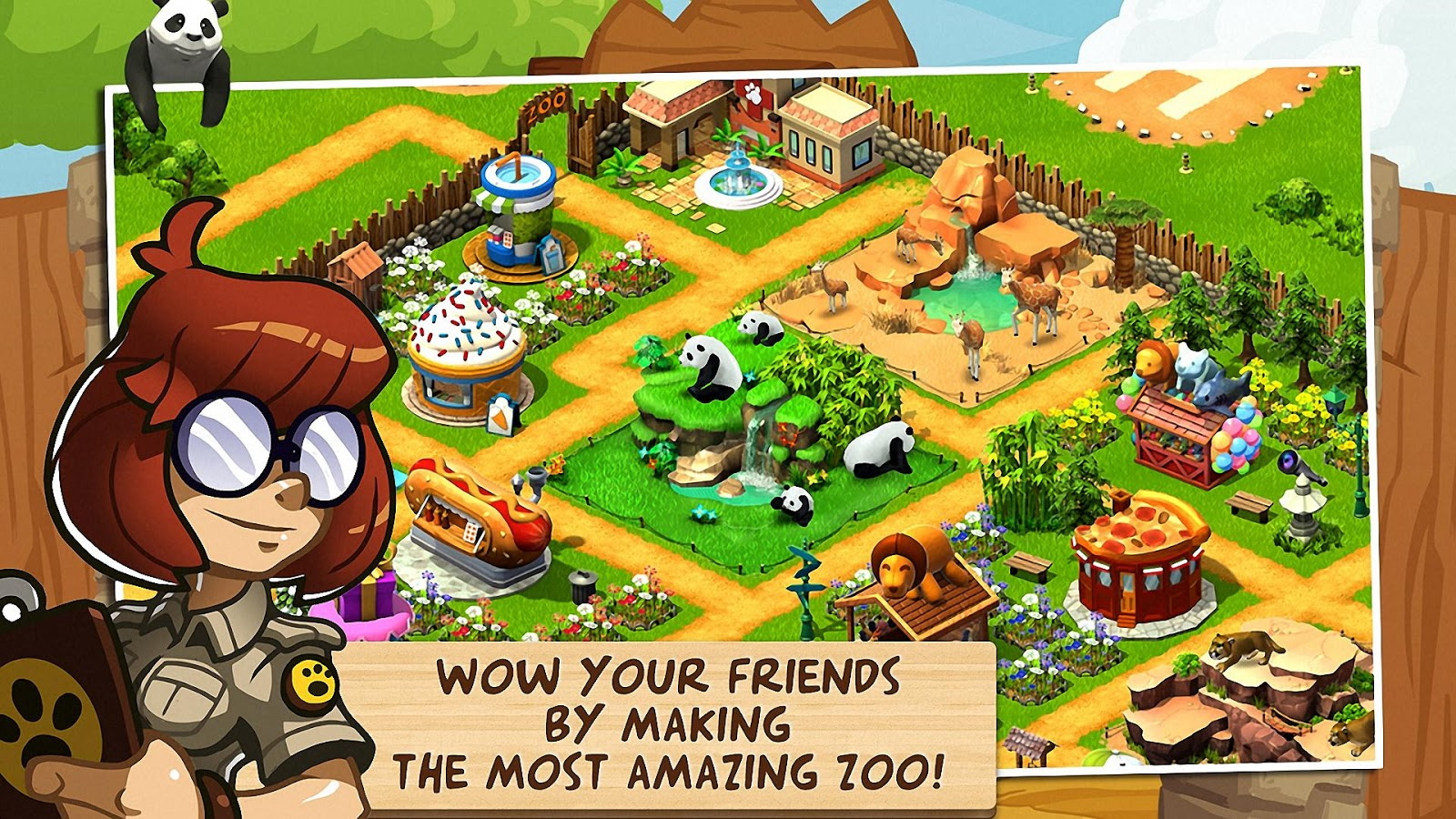 Download Wonder Zoo - Animal rescue ! Android Apk + Data