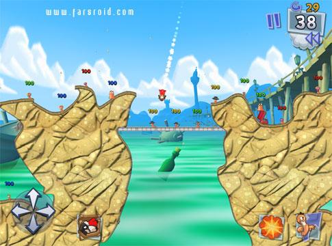 Worms™ 3 - بازی اندروید