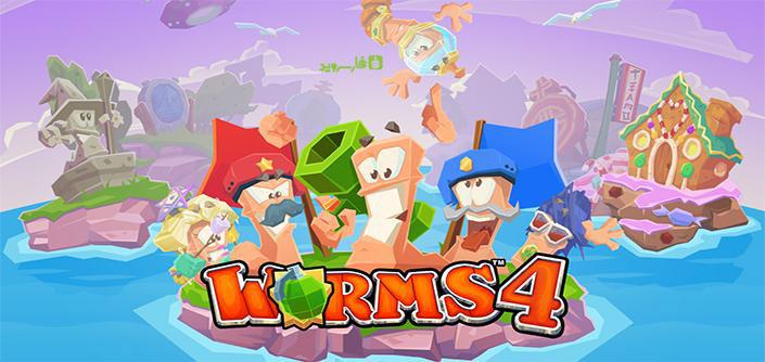 دانلود Worms 4 - بازی پرطرفدار جنگ کرم ها 4 اندروید + مود + دیتا