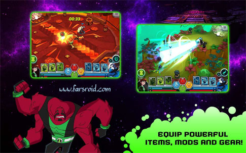 Download Wrath of Psychobos - Ben 10 Android Apk + Obb - New