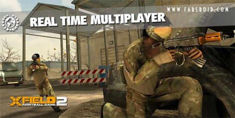 دانلود XField Paintball 2 Multiplayer - بازی پینت بال اندروید + دیتا + تریلر