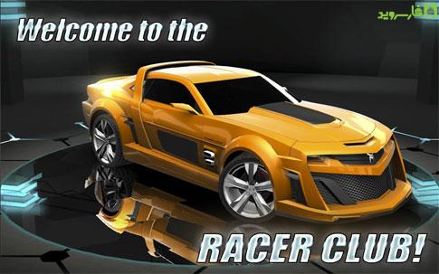 XRacer: The traffic - بازی اندروید