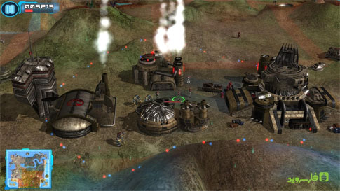 Z Steel Soldiers Android - بازی استراتژی تگرا اندروید