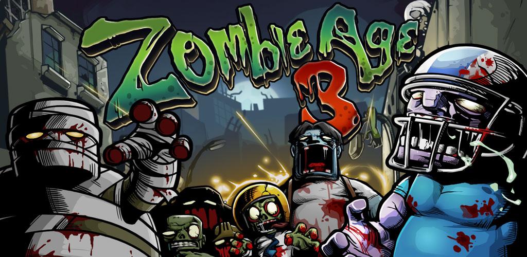 """دانلود Zombie Age 3 - بازی اکشن """"عصر زامبی 3"""" اندروید + 2 مود"""