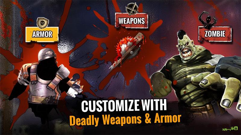 دانلود Zombie Deathmatch 0.0.21 – بازی جنگ زامبی ها اندروید + مود + دیتا
